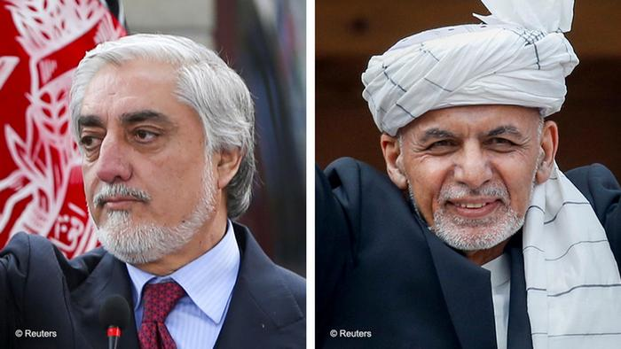 یک مقام و دو مدعی: اشرف غنی و عبدالله عبدالله