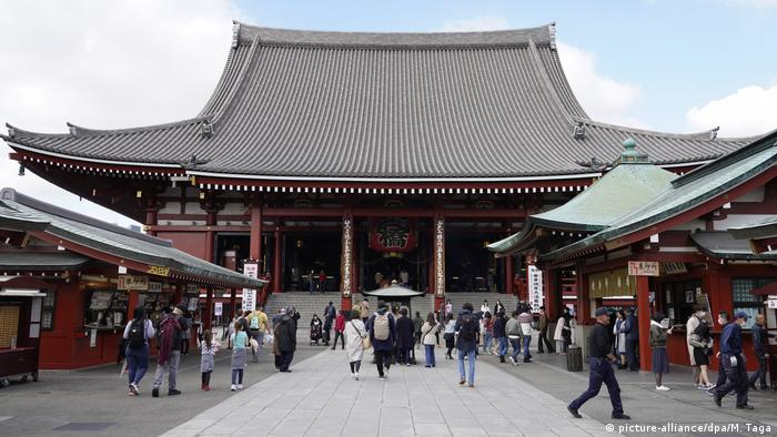 Храм Сенсо-дзі у Токіо