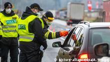 Bildergalerie Corona Tschechien Grenzkontollen