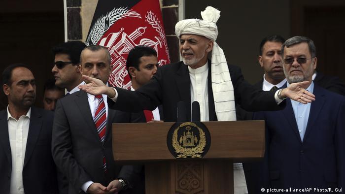 Afghanistan Kabul Vereidigung Präsident Ashraf Ghani