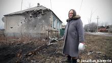 Ukraine Kämpfe bei Debalteve