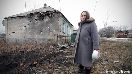 Ukraine Kämpfe bei Debalteve (Jonathan Alpeyrie)