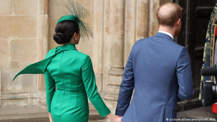prince harry meghan take on royal duties for the last time news dw 09 03 2020 prince harry meghan take on royal