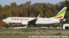 Äthiopien Seattle Boeing Field King County International Airport | Ethiopian Airlines Being 737 Max