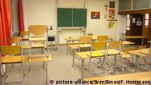 Deutschland Leeres Klassenzimmer