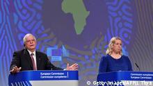 Brüssel | Pressekonferenz zur EU-Afrika-Strategie mit Josep Borrell und Jutta Urpilainen