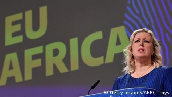 Brüssel | Pressekonferenz zur EU-Afrika-Strategie mit Jutta Urpilainen