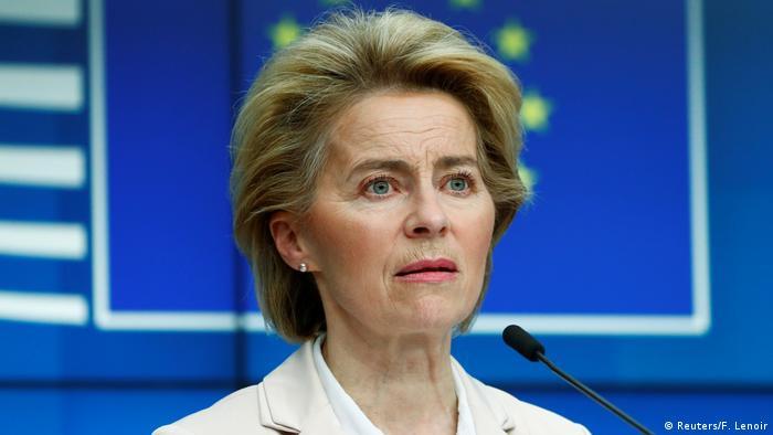 Belgien | Pressekonferenz Ursula von der Leyen und Charles Michel nach Treffen mit Erdogan