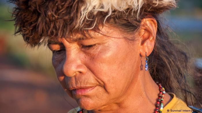 Damiana Cavanha lucha por recuperar sus tierras ancestrales. (Survival International)