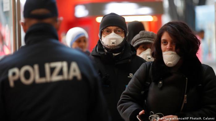 Italien Regierung schränkt Reise- und Versammlungsfreiheit im ganzen Land ein