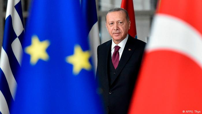 Belgien Gespräch von der Leyens mit Erdogan ohne erkennbares Ergebnis (AFP/J. Thys)