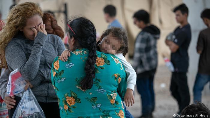 USA Symbolbild Migranten in Texas (Getty Images/J. Moore)