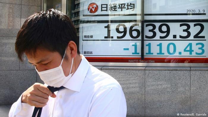 Japan Tokios Börse gibt weiter nach