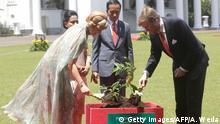 Besuch von König Willem-Alexander in Indonesien