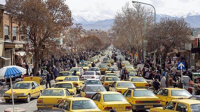 Iran Corona in Snandaj