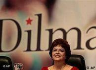 Dilma  Rousseff, pré-candidata do PT à sucessão de Lula