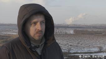 Екоактивіст Максим Бородін