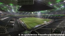 Borussia Mönchengladbach 17.12.2014 Allgemein, leeres Stadion im Borussia-Park, Borussia Park Mönchengladbach Borussia Moenchengladbach 17 12 2014 common empty Stadium in Borussia Park Borussia Park Moenchengladbach