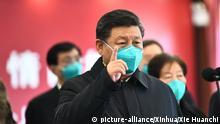 China Coronavirus Xi Jinping besucht Wuhan