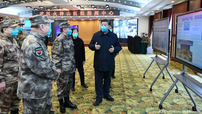 China Coronavirus Xi Jinping besucht Wuhan (Reuters/Xinhua/Xie Huanchi)