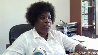 Mosambik Quelimane Schule - Leiterin Paulina Chombe
