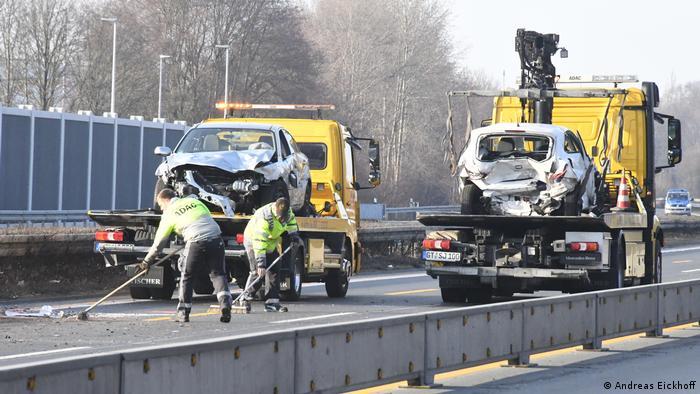 Deutschland Verkehrsunfall Saban Saulic