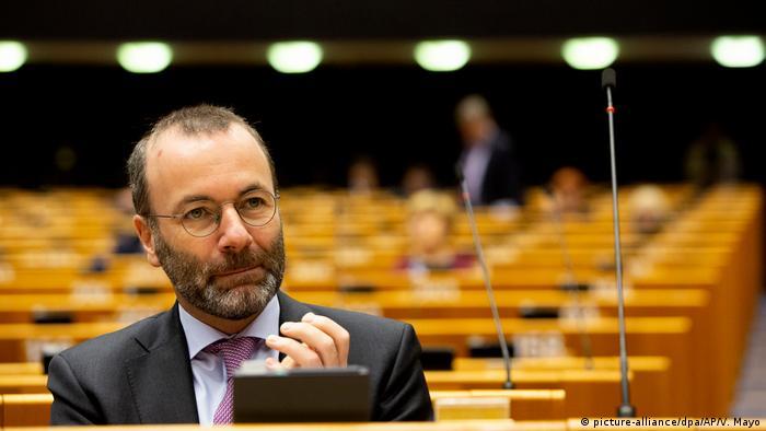 Szef frakcji chadeków w PE Manfred Weber