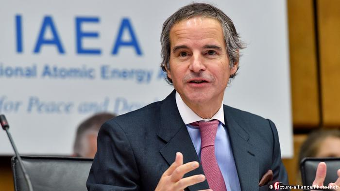رافائل گروسی، دبیرکل آژانس بینالمللی انرژی اتمی