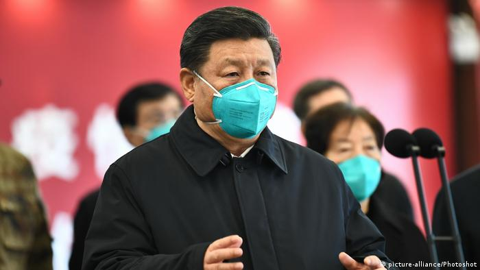 China Wuhan | Coronavirus | Xi Jinping, Präsident (picture-alliance/Photoshot)