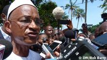 11/10/2015 Cellou Dalein Diallo - Anführer der guineischen Opposition -, in Conakry Autor Bob Barry