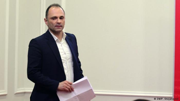 Nord-Mazedonien Gesundheitsminister Venko Filipce