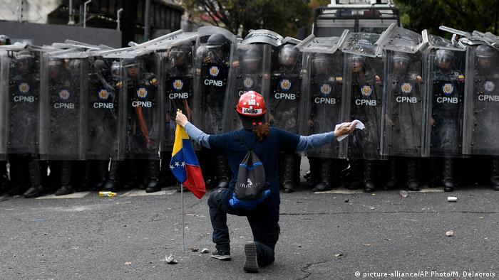 Protestas en Caracas. (10.03.2020).
