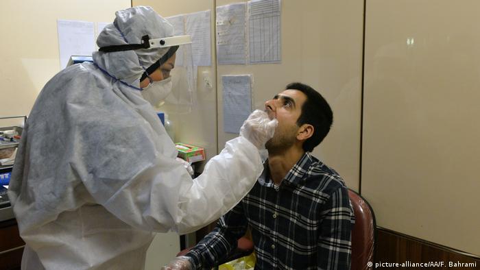 Iran Teheran Coronavirus (picture-alliance/AA/F. Bahrami)