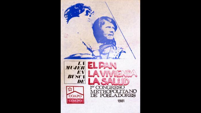 """Cortesía de Mauricio Vico, de su libro """"El afiche político en Chile (1970-2013), Ocho Libros Editores, Santiago de Chile, 2013."""