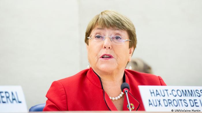 Michelle Bachelet, alta comisionada de la ONU para Derechos Humanos.