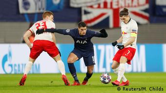 Spurs just couldn't find a way through against RB Leipzig