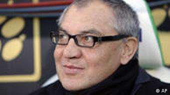 Schalke's head coach Felix Magath