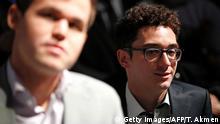 Schach: Fabiano Caruana und Magnus Carlsen