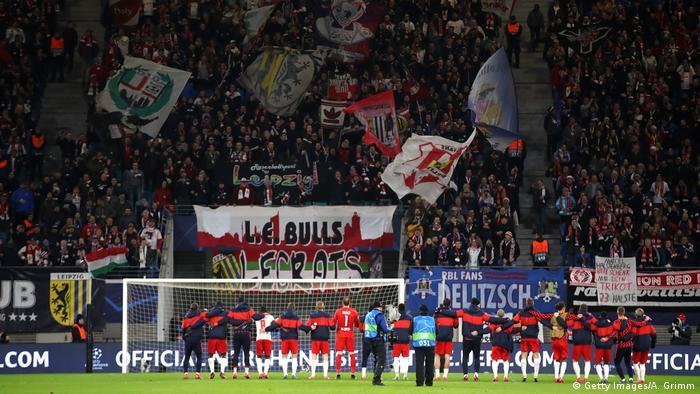 Fußball Champions League - RB Leipzig vs Tottenham Hotspur