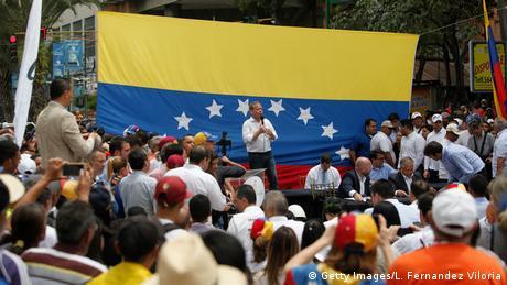 Venezuela: Proteste der Opposition in Caracas
