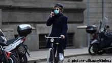 Italien: Angst vor Corona in Mailand