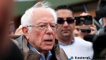 Präsidentschaftskandidat Bernie Sanders in Dearborn Heights, Michigan
