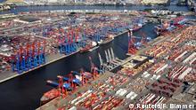Deutschland Containerhafen Hamburg