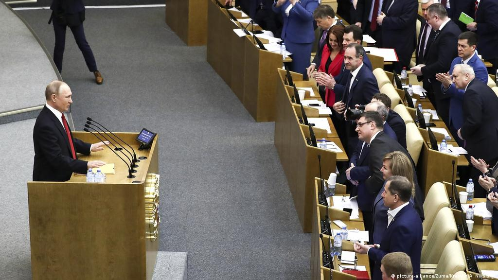 Russians vote on constitutional changes | Europe| News and current ...