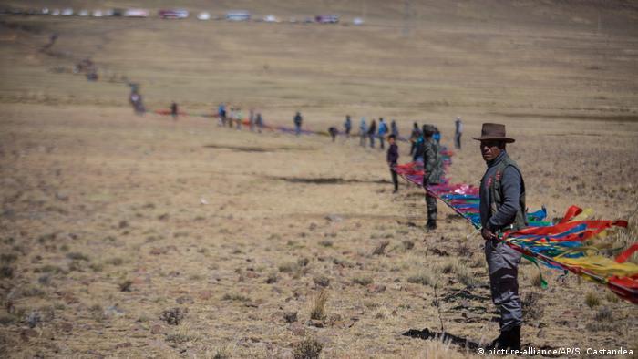 Bolivien Vikunja-Tiere (picture-alliance/AP/S. Castandea)