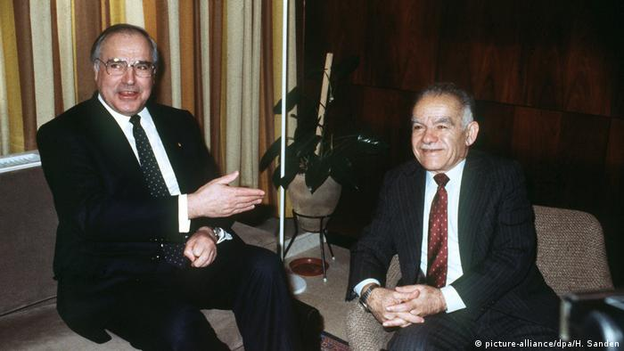 Bundeskanzler Helmut Kohl in Israel 1984