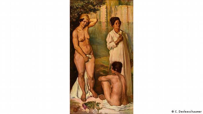 نقاشی ای از امیل برنار (نقاش فرانسوی درگذشته سال ۱۹۴۱)