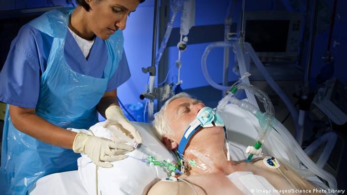 Pacijent na respiratoru