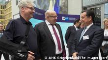 Berlin | Deutsch-Griechisches Wirtschaftsforum: Martin Wansleben, Peter Altmaier und Adonis Georgiadis