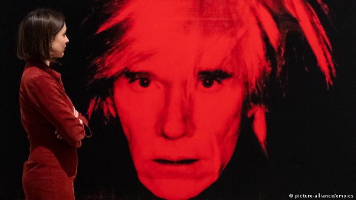 Andy Warhol 'Self-Portrait' (Ausstellung Tate Modern, London) (picture-alliance/empics)